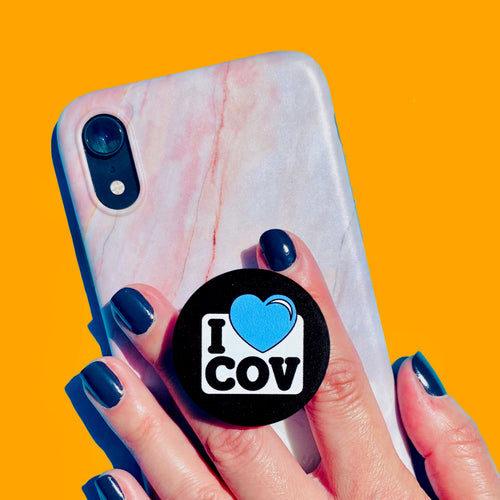 I LOVE COV CovGrip phone holder