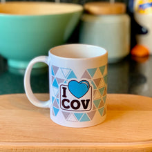 Load image into Gallery viewer, I LOVE COV mug