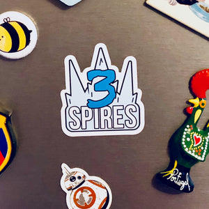 Three Spires magnet