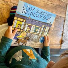 Load image into Gallery viewer, Lady Godiva's Birthday Suit children's book