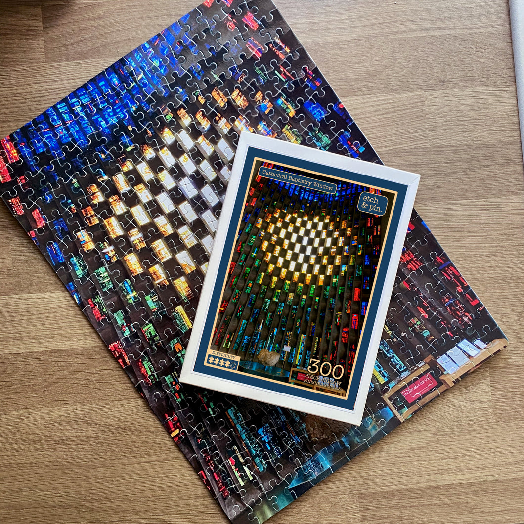 Cathedral Baptistry Window jigsaw
