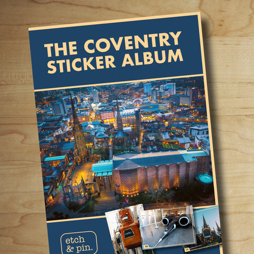 Coventry Sticker Album and stickers