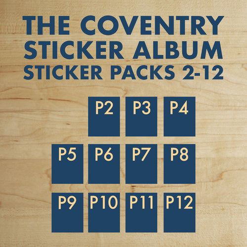 Complete Sticker Pack Set (Packs 2 - 12)