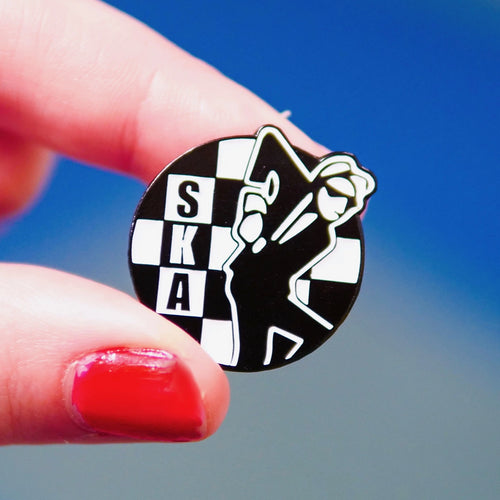 Etch and Pin Special SKA pin badge