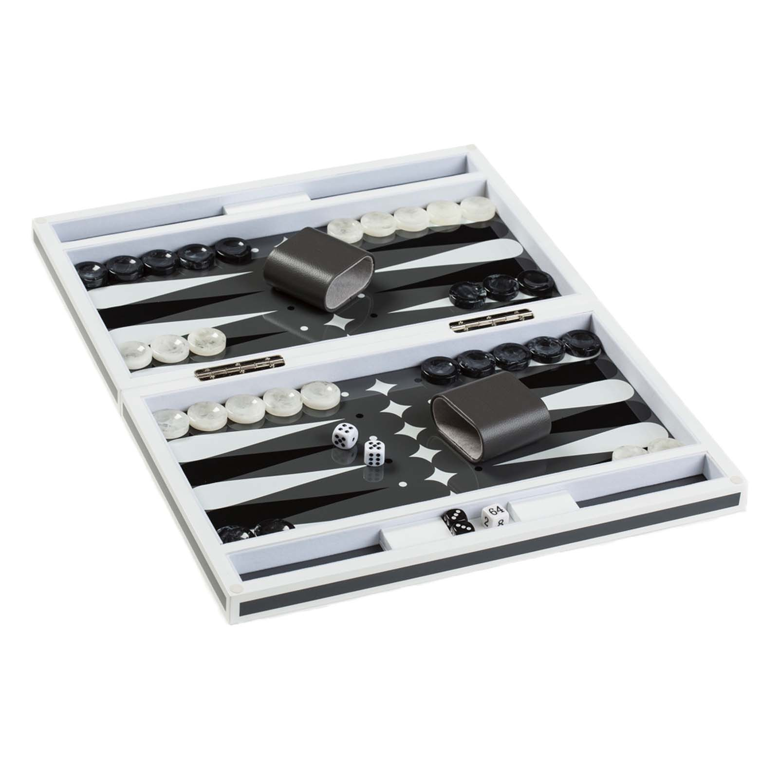 Acrylic Backgammon Set