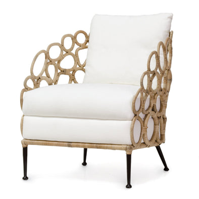 Lounge Chair - Looped Rattan