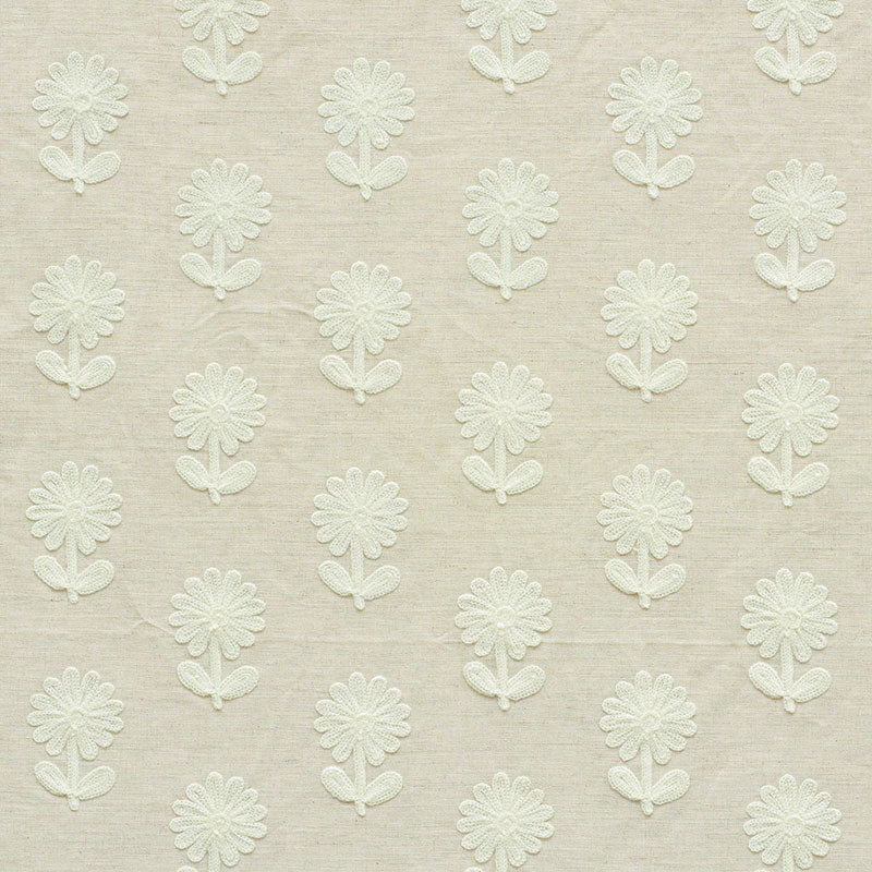 Schumacher - Paley Embroidery Fabric