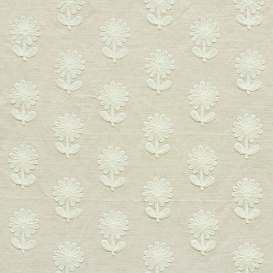 Schumacher • Paley Embroidery Fabric