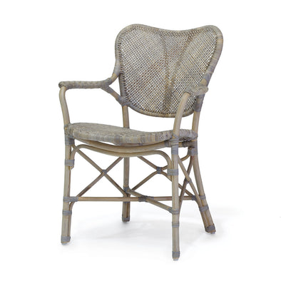 Woven Rattan Arm Chair