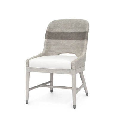 Whitewash Rope Side Chair