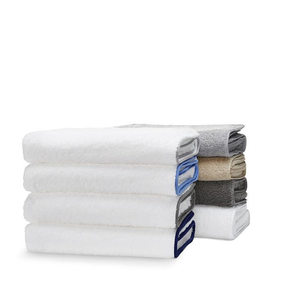 Cairo Bath Sheet (White Trim)