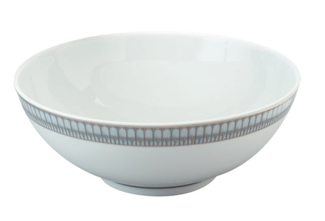 Arcades Gris Platine Large Salad Bowl 84.5 oz