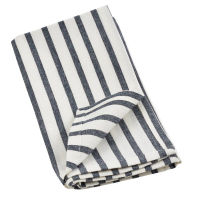 Napkin • Navy Blue Striped