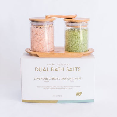 Dual Bath Salts (Matcha Mint/Lavender Citrus)