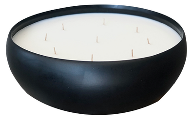 Black Simply Low Bowl Candle