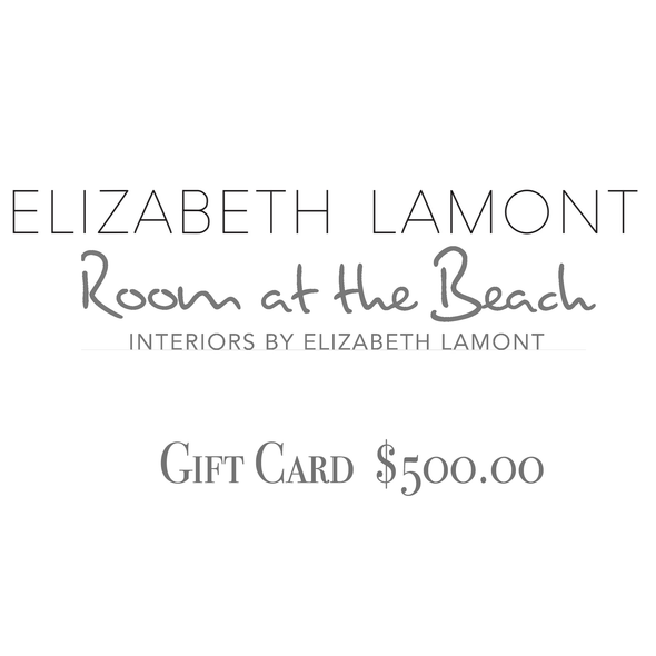 Room at the Beach Gift Card