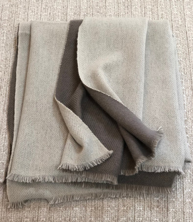 Throw • Slow Cashmere • EL Signature Double Faced Luxury Cashmere Throw Blanket
