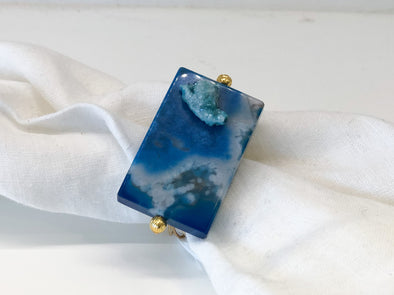 Napkin Ring • Gem Bar Azure