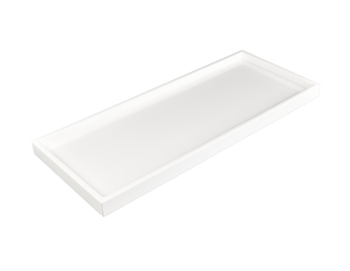 Tray • Lacquer Vanity Tray White