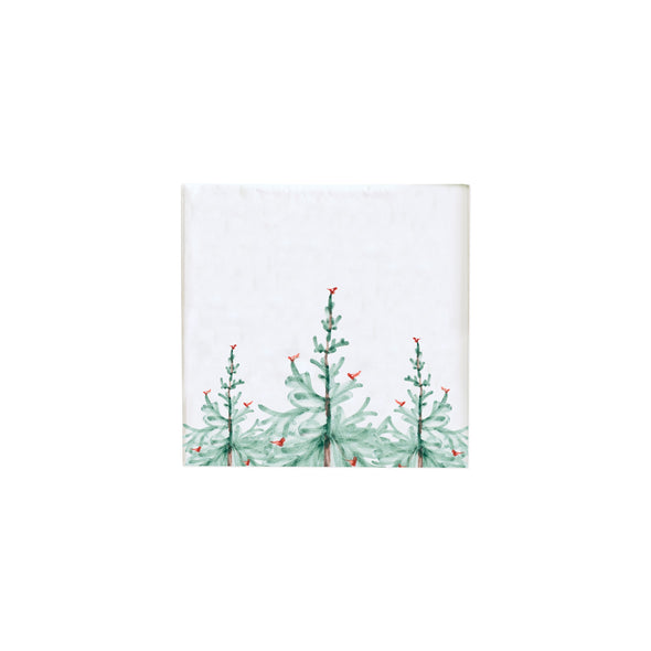 Vietri Lastra Holiday • Cocktail Napkin