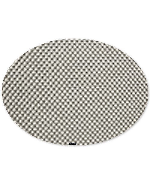 Minibasket Oval Placemat White