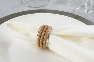 Rope Napkin Ring (Set of 4)