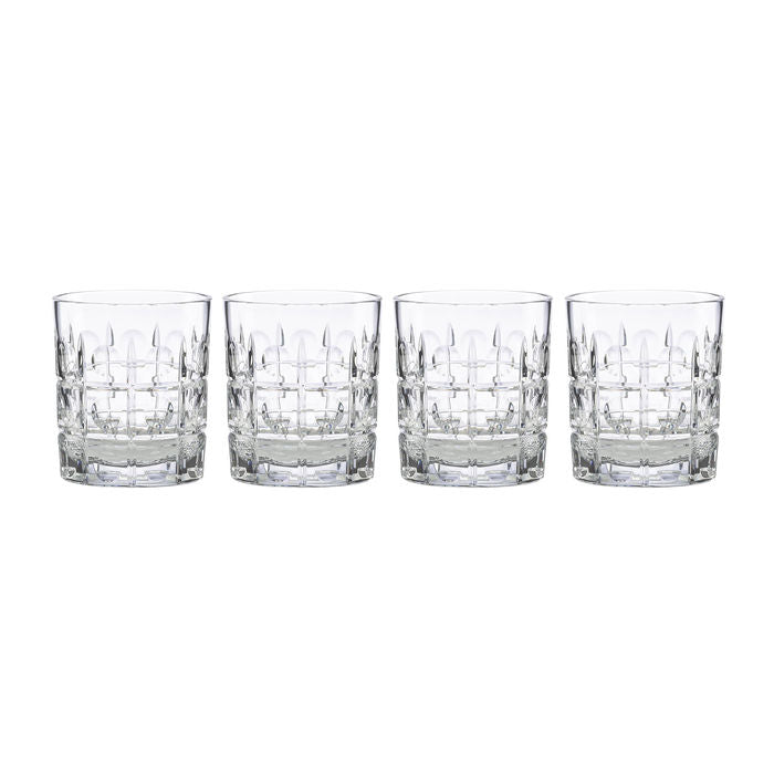 New Vintage Double Old Fashioned Set of 4
