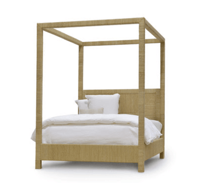 Seaside Canopy Bed - Queen