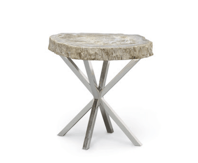 Side Table • Petrified Wood