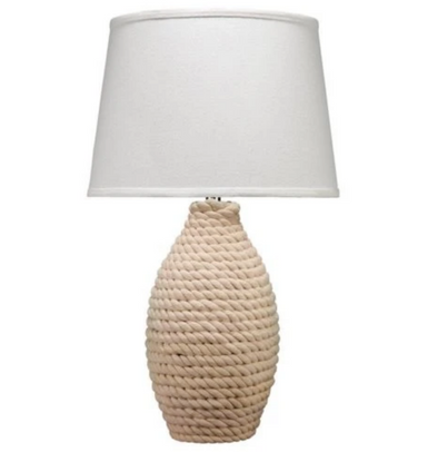 Rope Lamp with Shade