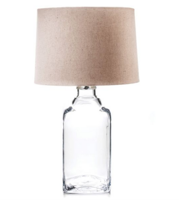 Glass Lamp with Shade