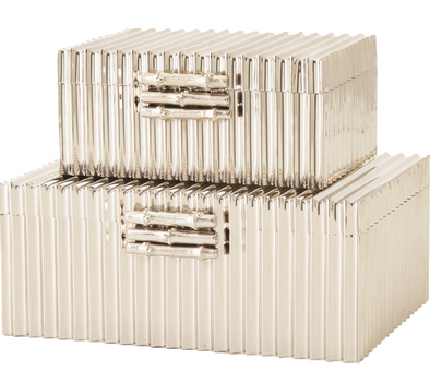 Corrugated Bamboo Nickel Box