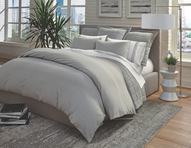 RASO • Elizabeth Lamont Private Label Bedding • Pebble