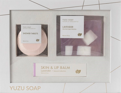 Yuzu Lavender Bath and Body Gift Set
