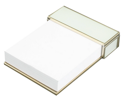 White Lizard Notepad