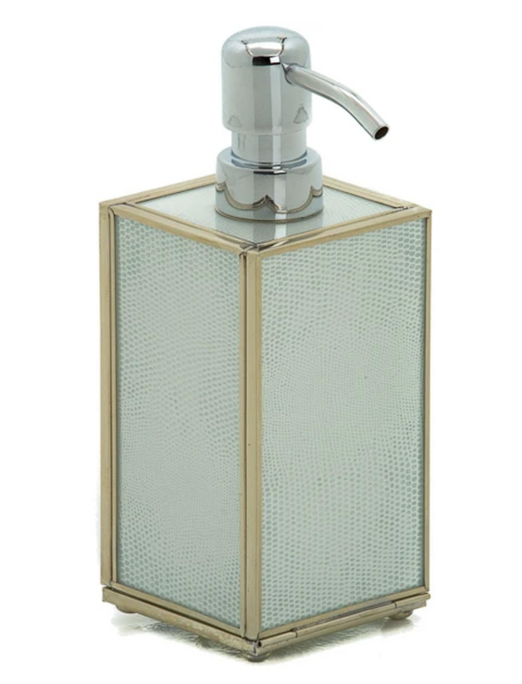 White Lizard Soap Dispenser