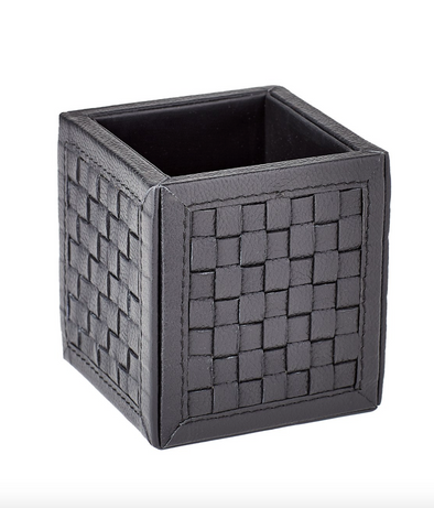 Woven Pencil Cup (Black)