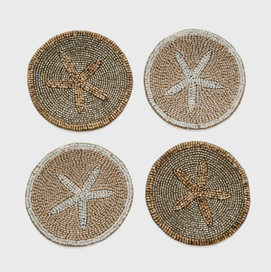 Starfish Coasters (Set of 4)