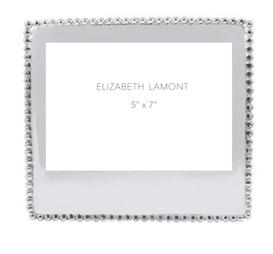 "Beaded 5"" x 7"" Statement Frame"