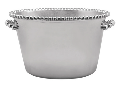 Pearled Medium Ice Bucket