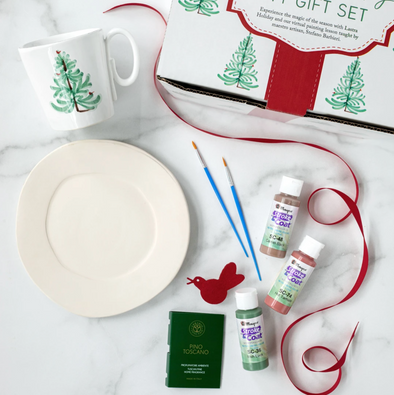Vietri DIY Lastra Holiday Paint Kit