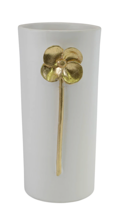 Vietri Fiori Poppy Medium Vase