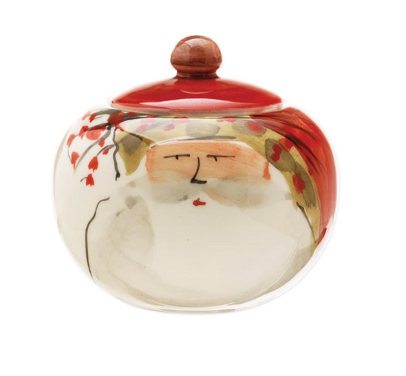 Old St. Nick Sugar Jar