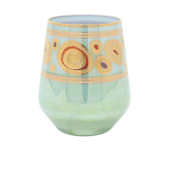 Regalia Aqua Stemless Wine Glass