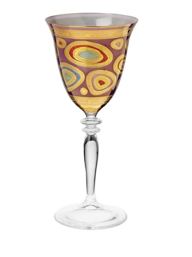 Regalia Purple Wine Glass