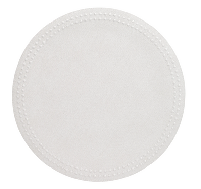 Pearls White White Placemat