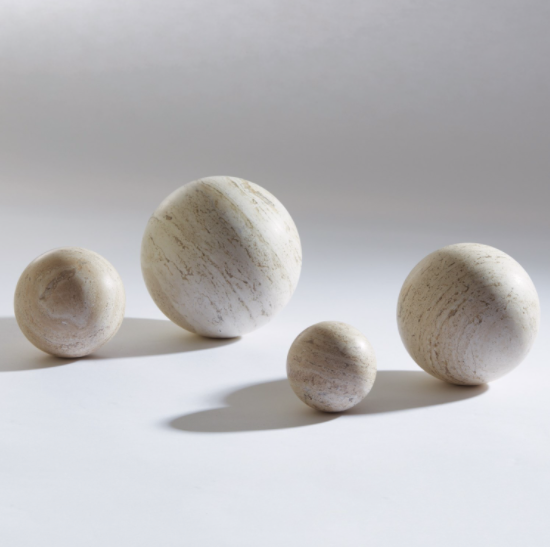 Sphere • Travertine