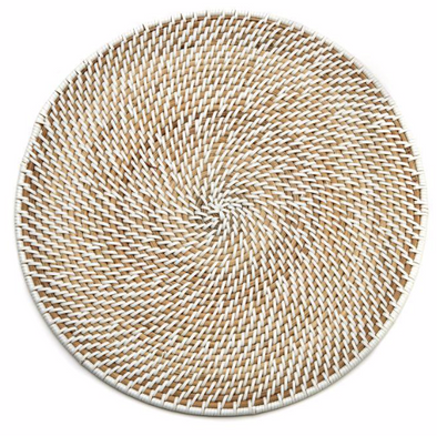 Placemat • Rattan Whitewash