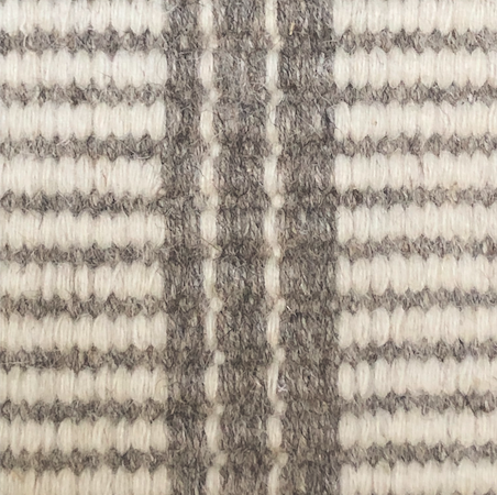 "Rug - Wool Chateau Stripe (12"" x 12"")"