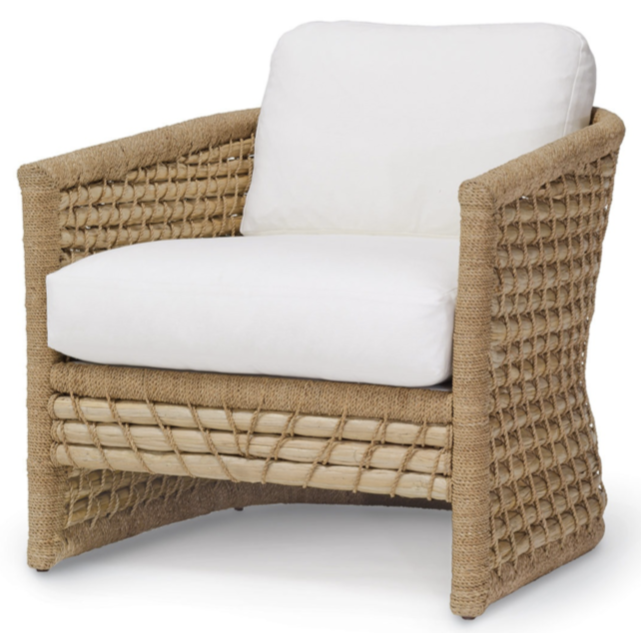 Lounge Chair - Rattan & Seagrass